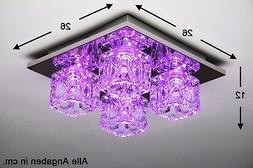 Plafonnier à LED Lampe à suspension Luminaire Lustre Chang