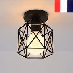 Plafonnier Industrielle en Métal Suspension Luminaire Desig