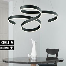 Plafonnier LED Clients Ess Chambre Suspendu Luminaire Anthra