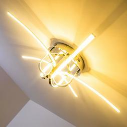 Plafonnier LED Design Moderne Luminaire de salon Lustre Lamp