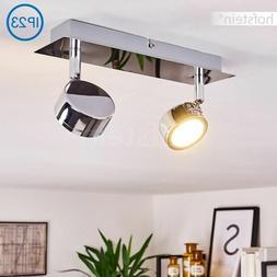 Plafonnier LED Lustre moderne Lampe à suspension 2 spots de
