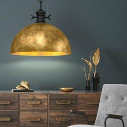 Plafonnier suspendu doré salle à manger éclairage luminai