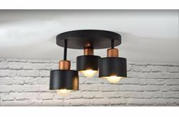 Plafonnier Suspension 3 à Flammes Haut Luminaire Lampe 382-