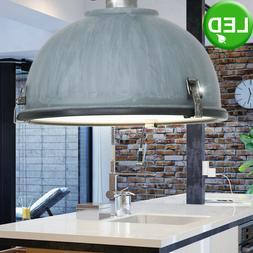 Rétro LED Pendule Luminaire Suspendu Travail Chambre Indust