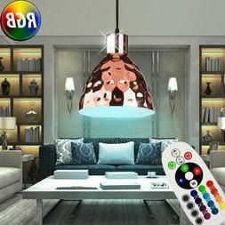 RGB LED Luminaire de Plafond Rose-Or Télécommande Coup Mar