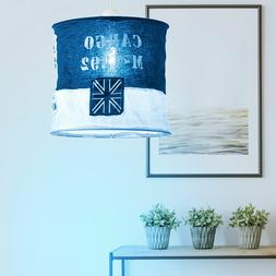 RGB LED Tissu Luminaire Suspendu Changement Bleu Blanc de Pl
