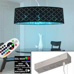RGB Plafonnier LED Variateur Bluetooth Luminaire Suspendu Co