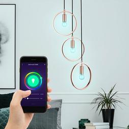 Smart LED Luminaire Suspendu Dimmable Design RGB Anneau de P