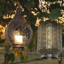 solaire led exterieur pendule lanterne deco balcon