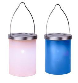 Solaire LED Lanterne Suspension Luminaire en Plastique Exté