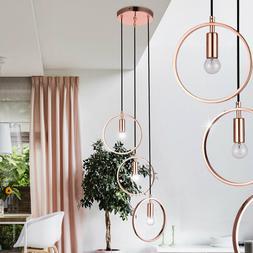Luminaire Suspendu Anneau Design Rose Gold la Vie Chambre É