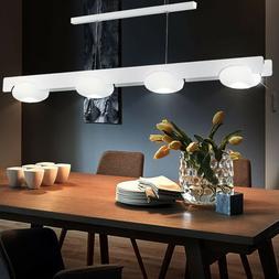Suspension DEL 24 W luminaire plafond lustre blanc lampe LED