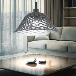 Suspension DEL luminaire plafond éclairage silicone rond la