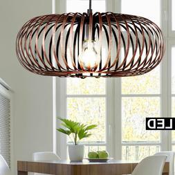 Suspension DEL luminaire plafond lampe LED éclairage rétro