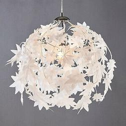 """Suspension en tissu """"Maple"""" Luminaire Lampe Plafond Plastiqu"""