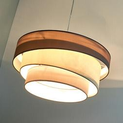 "Suspension en tissu ""Melia"" Luminaire Lampe Plafond Textile"