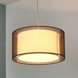 "Suspension en tissu ""Nica"" Luminaire Lampe Plafond Textile"