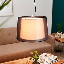 "Suspension en tissu ""Thedo"" Luminaire Lampe Plafond de Lampe"
