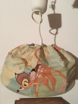 suspension luminaire enfant vintage thème bambi - électrif