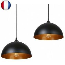 Suspension Luminaire Industrielle 2 pack,Tomshine Métal Ret