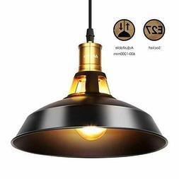 Suspension Luminaire Industrielle Suspension 27Cm Ampoules E