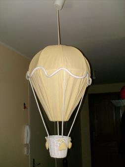 Suspension Luminaire lampe chambre enfant bébé montgolfiè