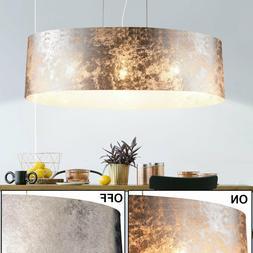 Suspension luminaire lustre salle de séjour tissu éclairag