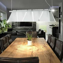 Suspension luminaire plafond lampe lustre verre réglable ha