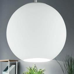 Suspension luminaire verre boule éclairage chambre d'hotes