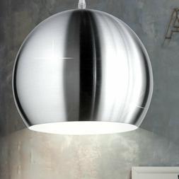 Suspension lustre salle à manger luminaire nickel mat écla