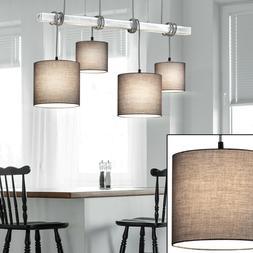 Tissu Suspendu Spot Luminaire de Plafond la Vie Chambre Bois