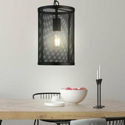 Vintage Luminaire Suspendu la Vie Chambre Couvrir Cage Filet