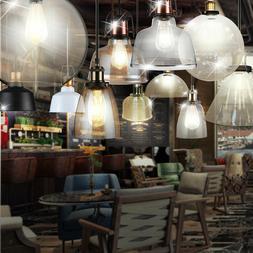 VINTAGE Plafond Pendule Suspension Luminaire Industriel Mais