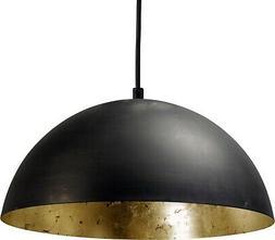 XXL Luminaire Suspendu En Fonte Rouge Ø30cm E27 Lampe Suspe